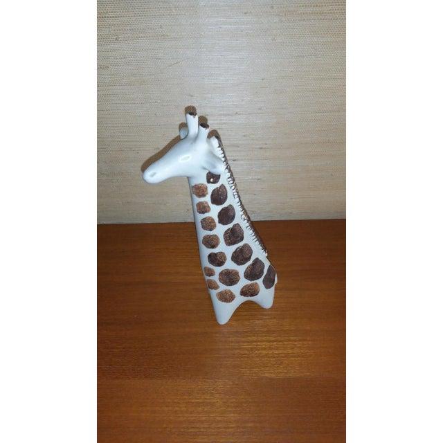 Boho Chic Arabia of Finland 1960's Giraffe Figurine by Taisto Kaasinen For Sale - Image 3 of 3