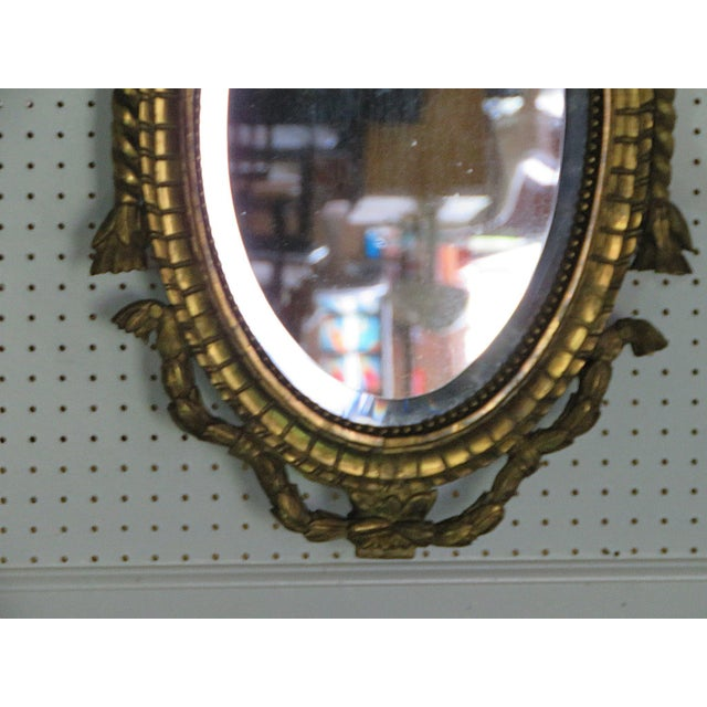 Early 20th Century Antique 19thC Giltwood Mirror For Sale - Image 5 of 8