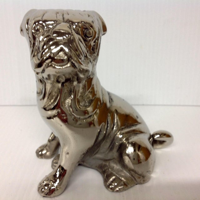1930s Chromed English Bulldog - Image 2 of 6