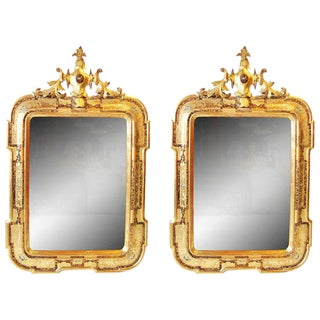 Pair of Venetian Mirrors For Sale