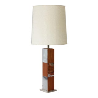 Mid Century Lamp by Paul Evans for Laurel