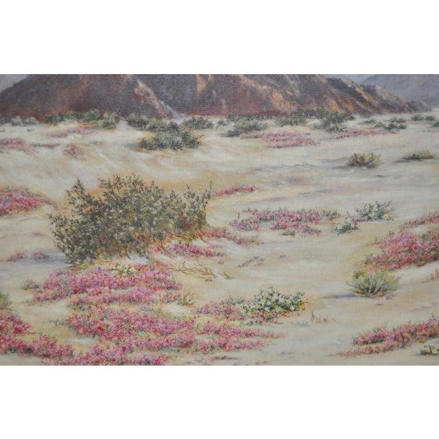 Elizabeth Hewlett Watkins California Desert Landscape Painting - Image 5 of 10