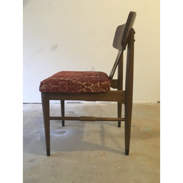 Vintage Modern Danish Style Dining Chairs - Set of 6 - Image 6 of 10