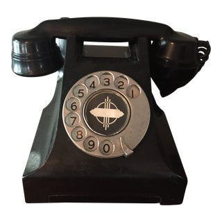 Vintage Mid-Century Dial Phone For Sale