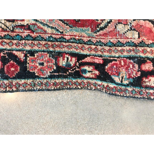 Textile Middle Eastern Hand Knotted Wool Rug For Sale - Image 7 of 9