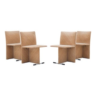 1971 Dining Room Chairs by Giovanni Offeredi for Saporiti