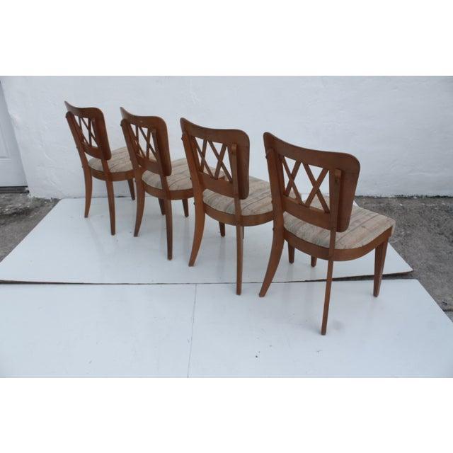 Heywood-Wakefield Heywood-Wakefield Dog Bone Chairs - Set of 6 For Sale - Image 4 of 11