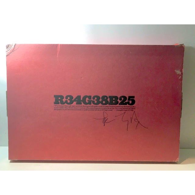 """We are proud to present R34G38B25 by Christopher Doyle. Published by Systems Design Ltd., 2003 Softcover Size: 11.25"""" x..."""