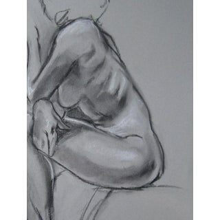 Kathleen Ney Original Charcoal Drawing Preview