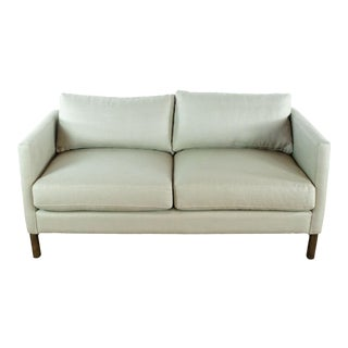 Hd Buttercup Upholstered Sofa For Sale