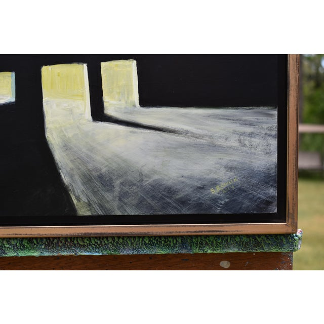 """2010s """"Late Night Work"""" Contemporary Painting by Stephen Remick For Sale - Image 5 of 11"""