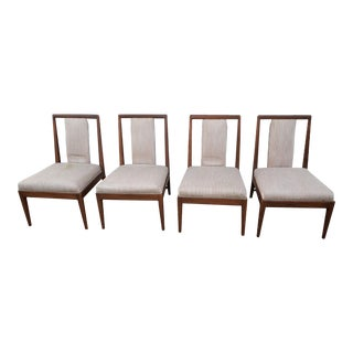 Mid Century Danish Chairs - Set of 4 For Sale