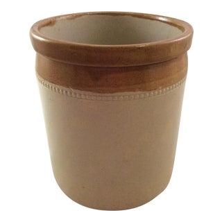 19th Century Bristol Stoneware Crock For Sale