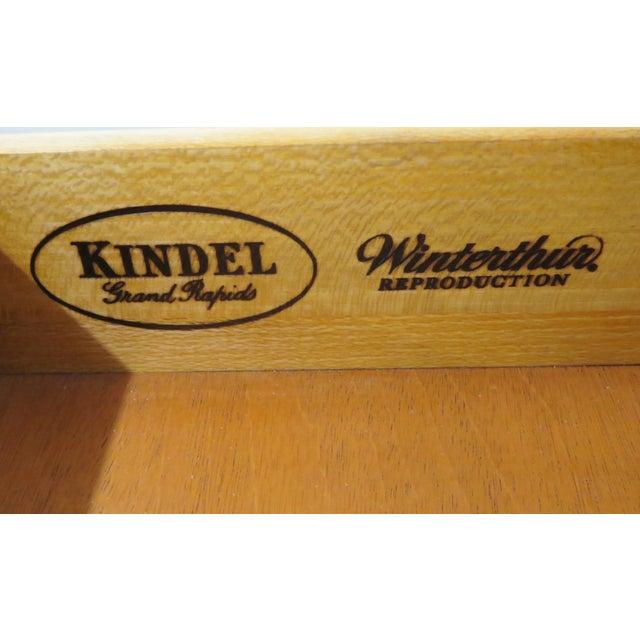 Kindel Winterthur Chippendale Style Lowboy - Image 4 of 6