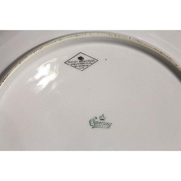 Bavarian Gilt Porcelain Serving Charger For Sale - Image 5 of 5