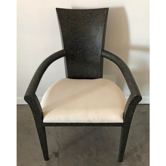 Contemporary Solid Terrazzo Armchair by Carlo Furniture For Sale - Image 3 of 7