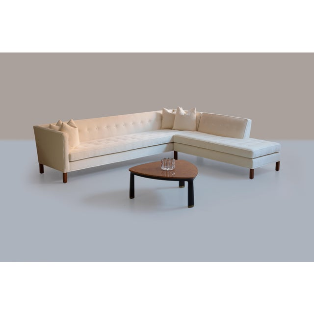 Edward Wormley for Dunbar Sectional Sofa For Sale - Image 12 of 13