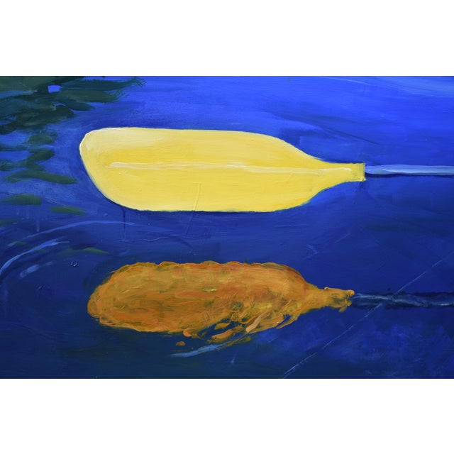Stephen Remick Modern Painting, The Journey by Stephen Remick For Sale - Image 4 of 13