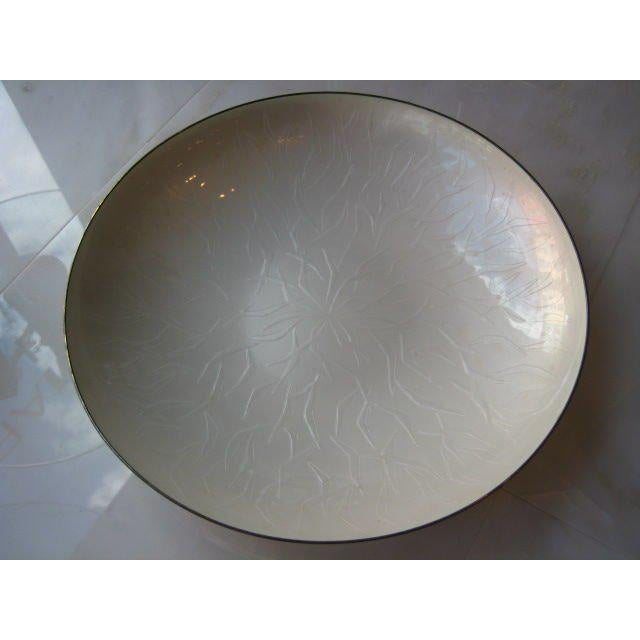 1960s 1960s Mid-Century Modern David Andersen Sterling Silver and Enamel Charger For Sale - Image 5 of 7