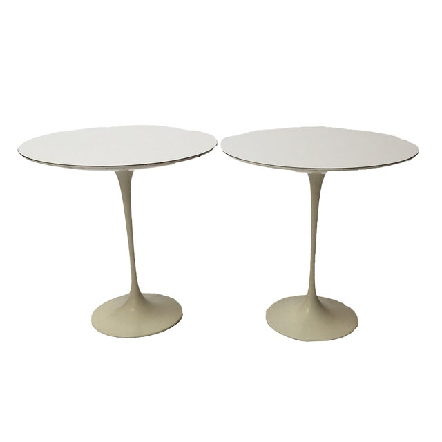 1st Edition Tulip Side Tables - Pair - Image 1 of 11