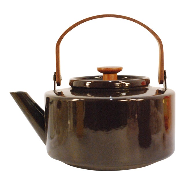 Copco Michael Lax Chocolate Brown #117 Tea Kettle - Image 1 of 11