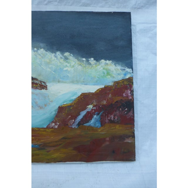 MCM Ocean Waves Painting by H.L. Musgrave - Image 5 of 7