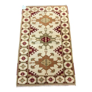 Oriental Turki̇sh Rug - 2′10″ × 4′6″ For Sale
