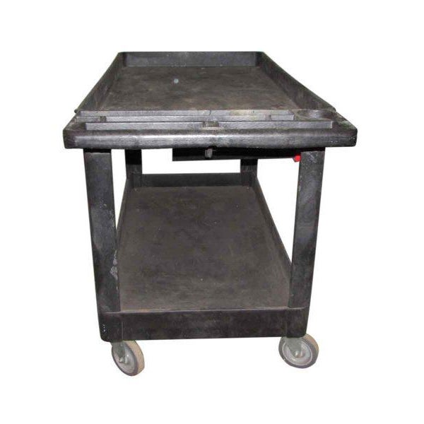 Industrial Plastic Cart With Drawer - Image 6 of 8