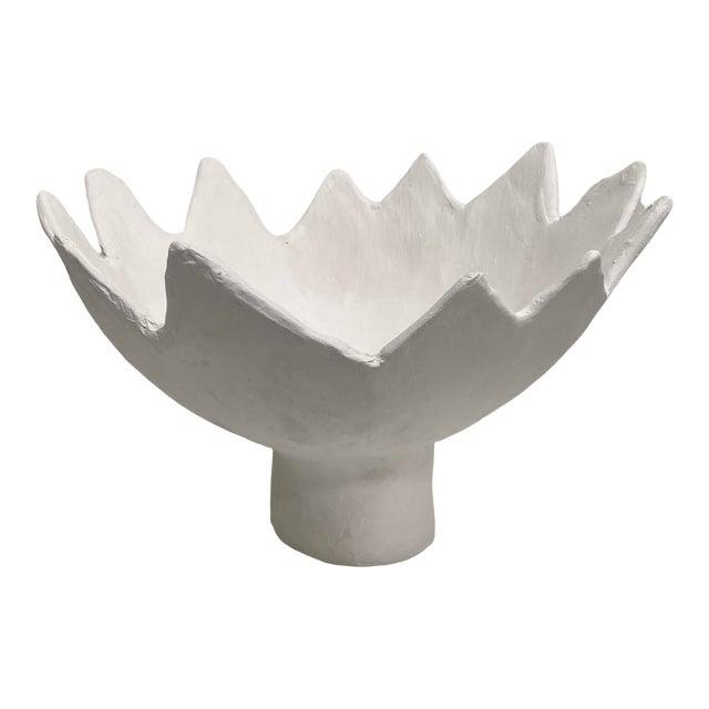 Leo Handmade Sculptural Pedestal Bowl For Sale