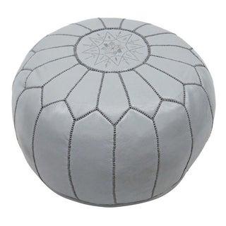 Modern Moroccan Dark Gray Pouf Preview