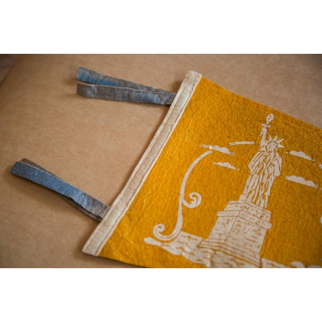 Statue of Liberty Felt Flag For Sale - Image 4 of 5