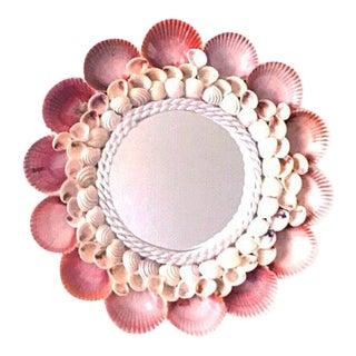 Handmade Pectin Nobilis Seashell Mirror