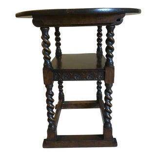 Antique Oak Monk's Table For Sale