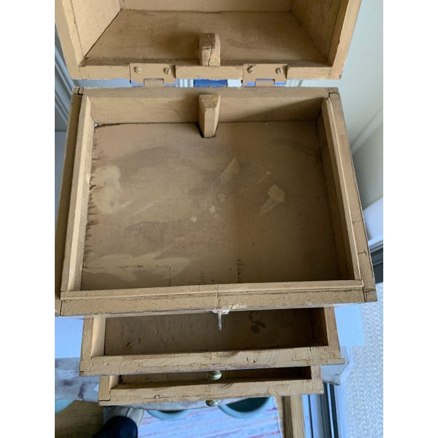 Boho Rustic Chic Jewelry Organizer Box For Sale In Los Angeles - Image 6 of 13