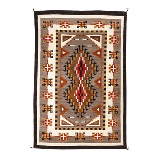 "Vintage Navajo Rug, 5'10"" X 8'8"" For Sale"
