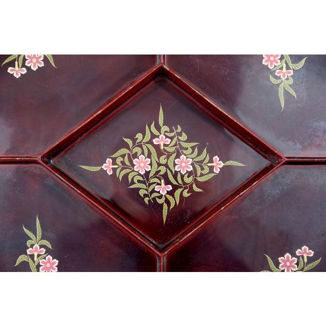 Maruni Vintage Maruni Lacquerware Tray For Sale - Image 4 of 10
