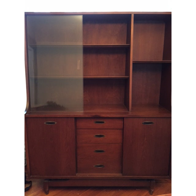 Mid Century Modern China Cabinet - Image 4 of 4