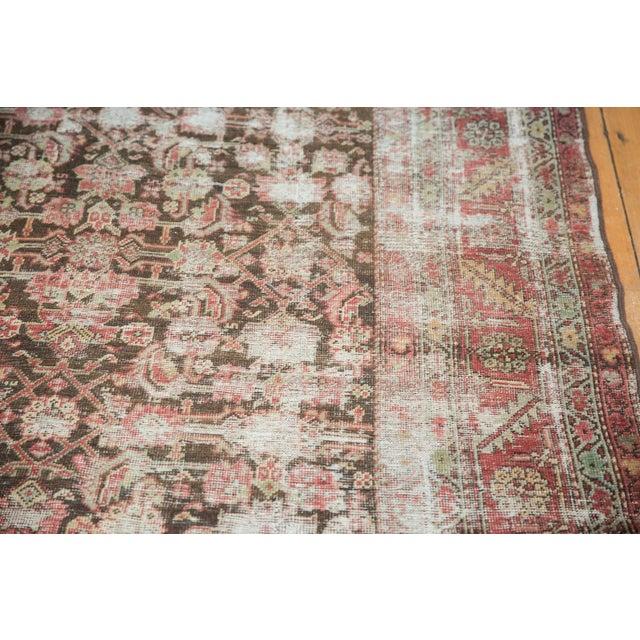 """Textile Antique Distressed Karabagh Rug Runner - 5'4"""" X 13' For Sale - Image 7 of 13"""