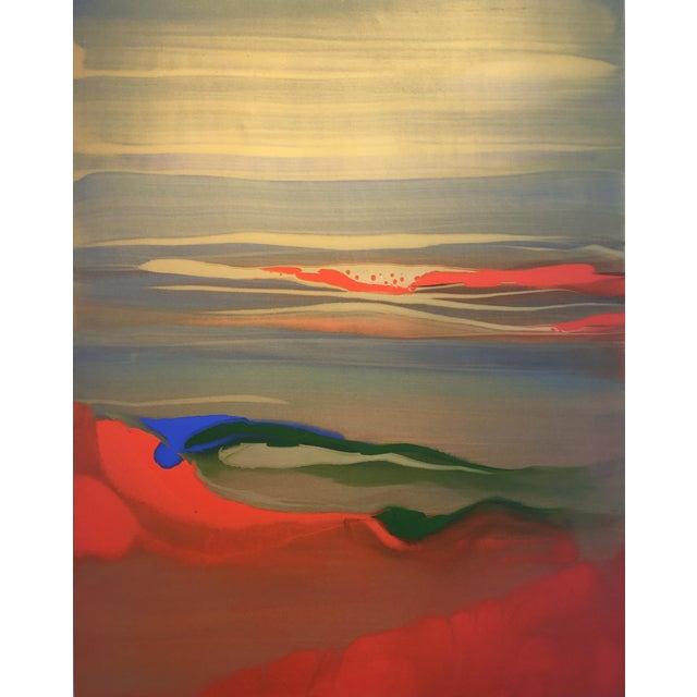 "Nico Munuera Abstract Painting ""Boneless Vi"" For Sale"