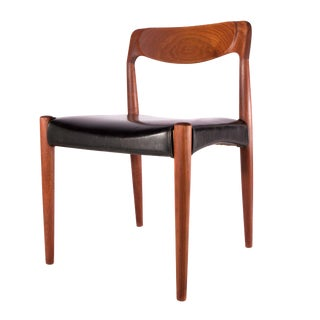 Danish Furniture Solid Teak Side Chair