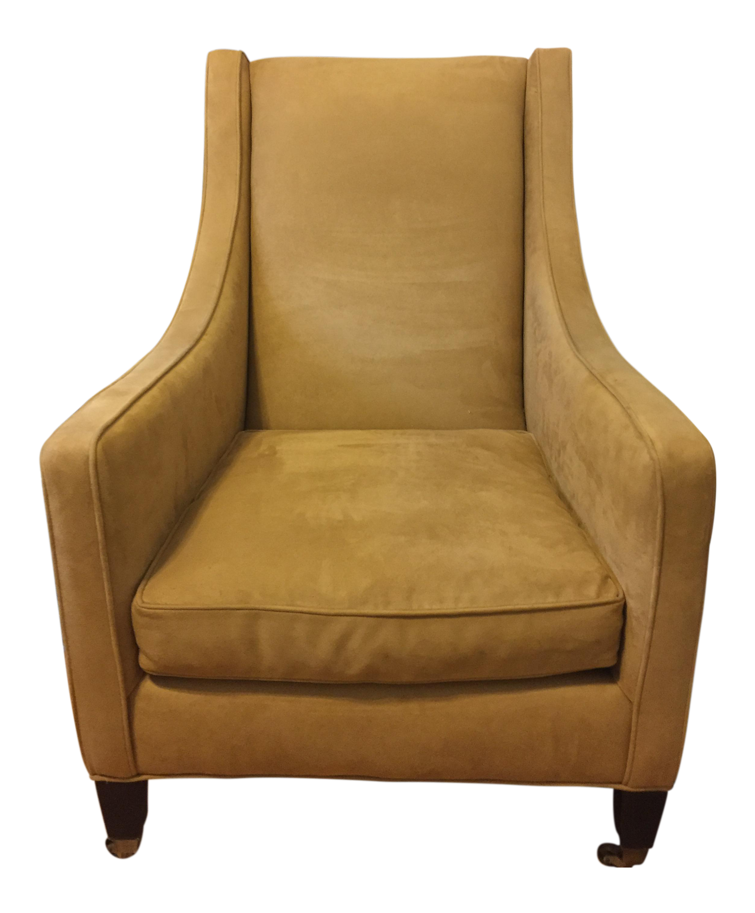 Restoration Hardware Modern Suede Chair