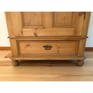 Vintage Swedish Pine Armoire Preview