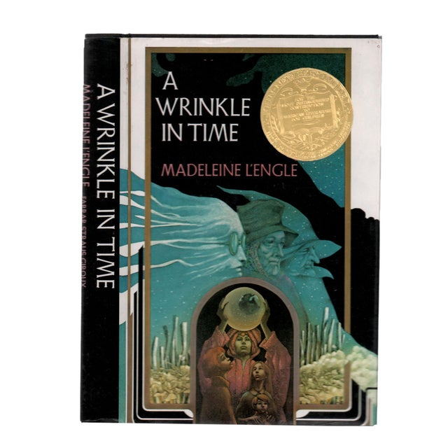 """1980s 1986 """"Signed Edition, a Wrinkle in Time"""" Collectible Book For Sale - Image 5 of 5"""