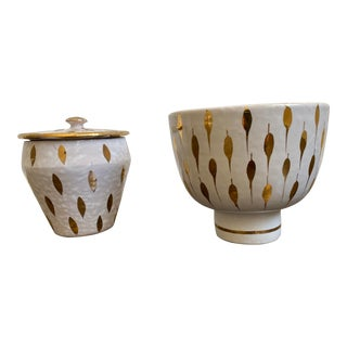 Bitossi Italian Mid Century Modern Bowls - a Pair For Sale