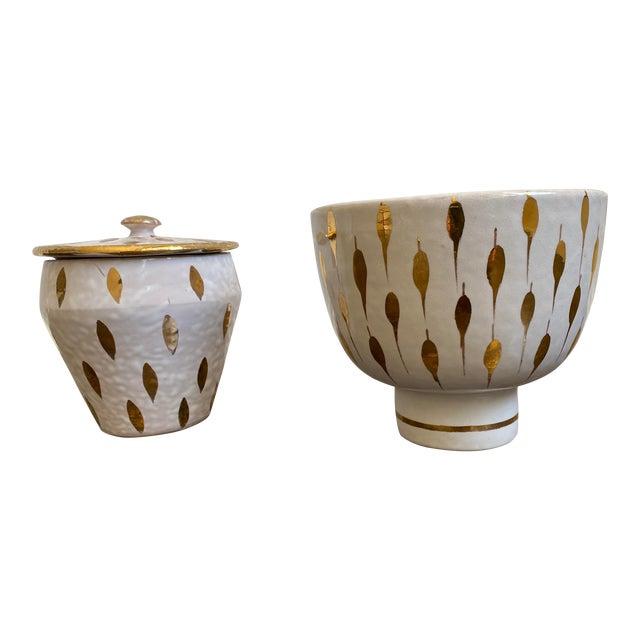 Bitossi Italian Mid Century Modern Bowls - a Pair For Sale