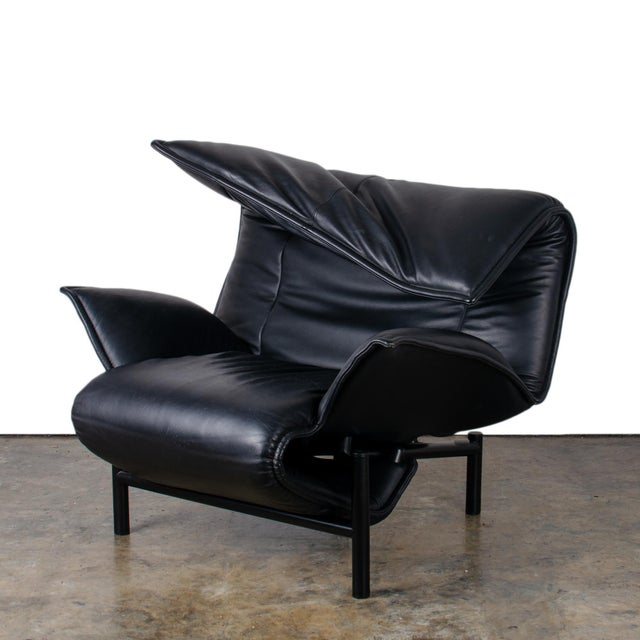 1980s Vintage Vico Magistretti Veranda Lounge Chair for Cassina For Sale In Savannah - Image 6 of 12