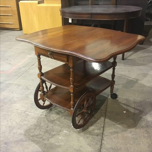 Pennsylvania House Cherry Dining Tea Cart