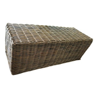 Restoration Hardware Sea Grass Bench For Sale