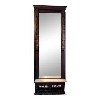 Victorian Eastlake Tall Pier Mirror For Sale