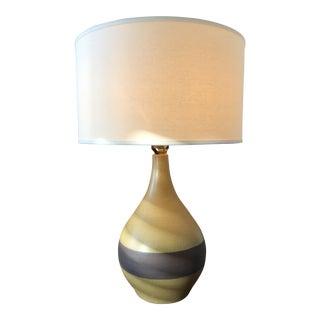 Gordan & Jane Martz Marhsall Studios Glazed Table Lamp With 2 Shades For Sale